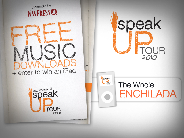 Speak Up Tour Collateral