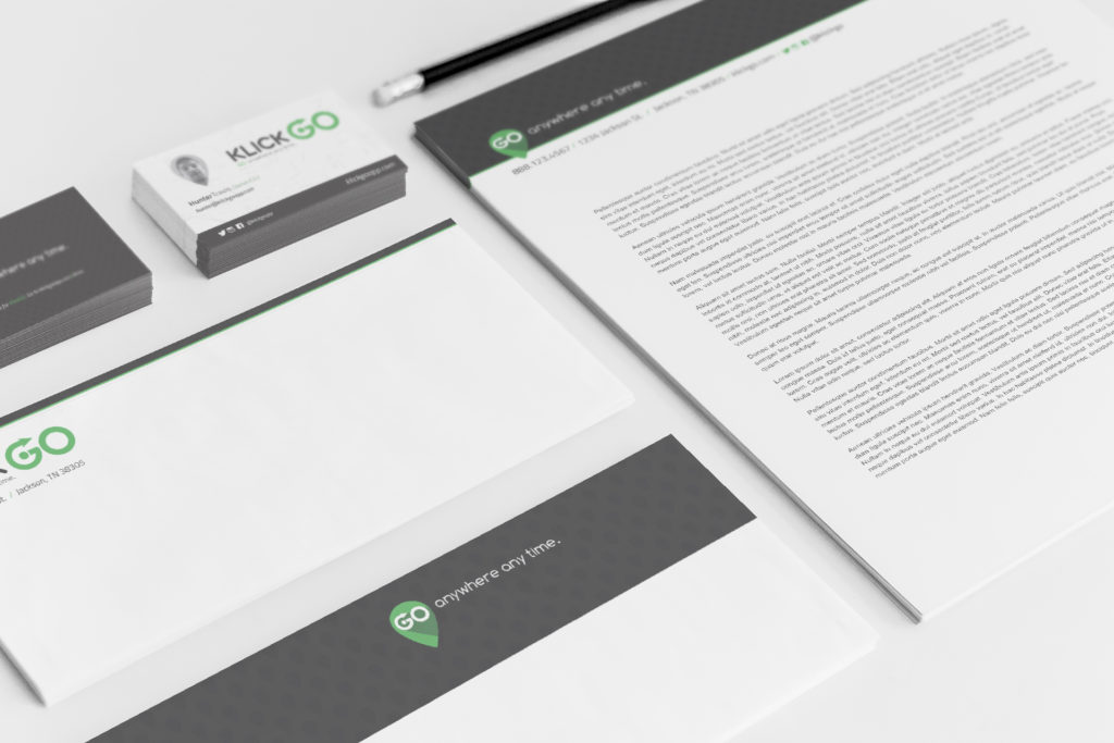 KlickGO_Stationary Mockup